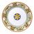 Round serving platter - decor CINQUECENTO