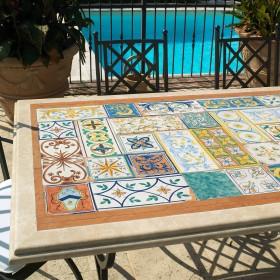 """Tables """"Cotto & Travertine"""""""
